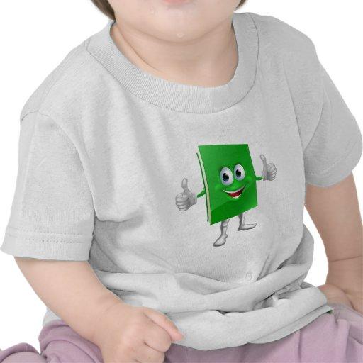 Concepto de la educación de la mascota del libro camisetas