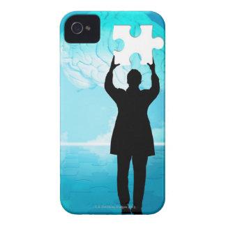 Concepto de la reunión de reflexión iPhone 4 cárcasas