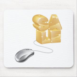 Concepto de la venta del Internet del ratón Tapetes De Ratón