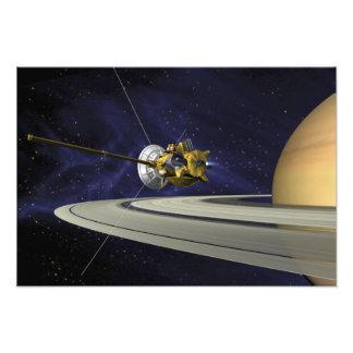 Concepto de los artistas de Cassini Fotografía