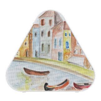 Concepto de Venecia Altavoz
