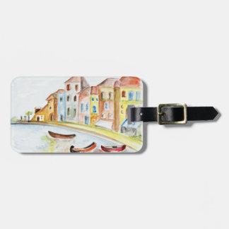 Concepto de Venecia Etiquetas Bolsa