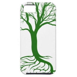 Concepto del árbol del cerebro iPhone 5 fundas