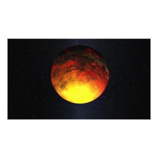 Concepto del artista de Kepler-10b Fotografía