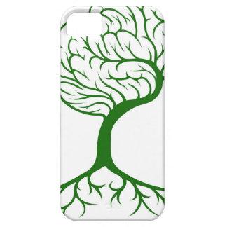 Concepto del cerebro del árbol funda para iPhone 5 barely there