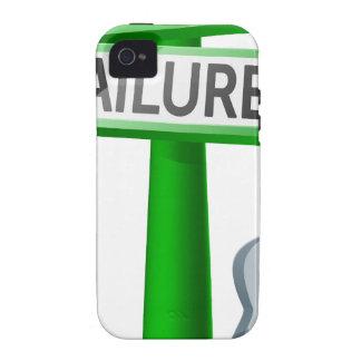 Concepto del éxito o del fracaso vibe iPhone 4 carcasa