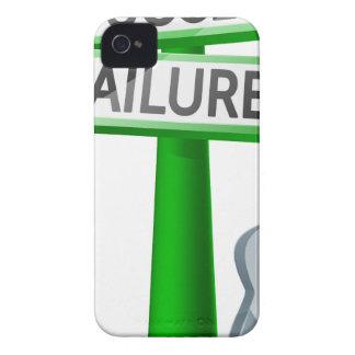 Concepto del éxito o del fracaso Case-Mate iPhone 4 funda