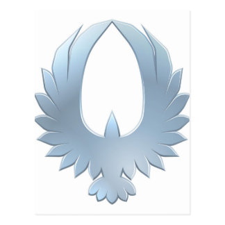 Concepto del icono del pájaro de Eagle Tarjetas Postales