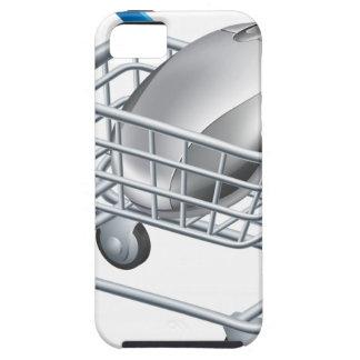 Concepto en línea de las compras del Internet iPhone 5 Cárcasas
