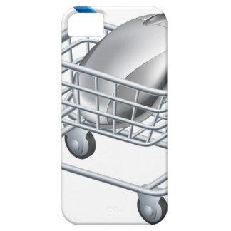 Concepto en línea de las compras del Internet iPhone 5 Case-Mate Carcasas