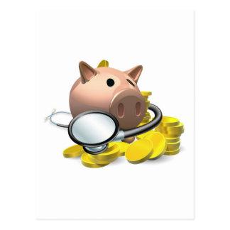 Concepto financiero de la revisión médica postal