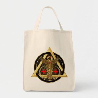 Concepto universal médico del artista del diseño bolsa de mano