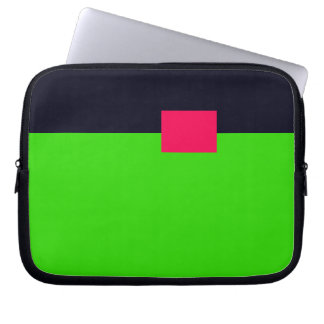 Conceptual 1 Zippered Soft Laptop iPad Case Computer Sleeve