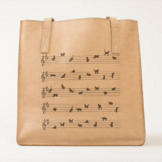 Conceptual Art Cat Song Tote