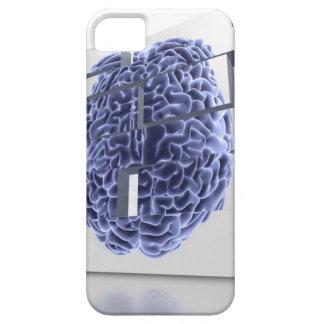 Conceptual computer artwork of building blocks iPhone SE/5/5s case