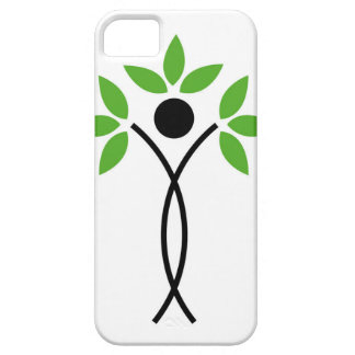 Conceptual design of a tree and a human iPhone 5/5S cover