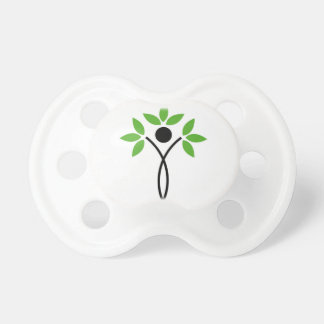 Conceptual design of a tree and a human baby pacifiers