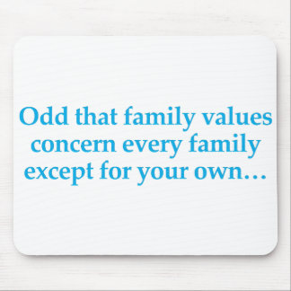 Concern yourself with your own family mouse pad