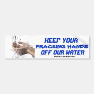 Concerned Citizens Against Fracking Car Bumper Sticker