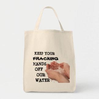 Concerned Citizens Against Fracking Tote Bag