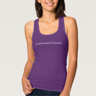 Concerned Citizens Tank Top