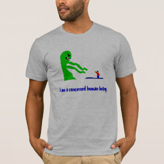 Concerned Human Being T-Shirt
