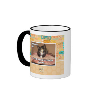 Concerned Kitty Ringer Mug