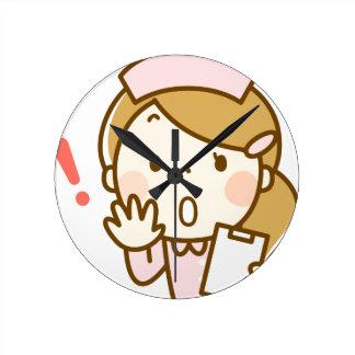 Concerned Nurse Round Clock