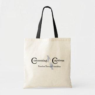 Concerning Captives Tote Bag
