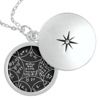 CONCERNING DIRECTIONS AND HORARY QUESTIONS STERLING SILVER NECKLACE