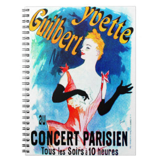 Concert Ad 1891 Notebook