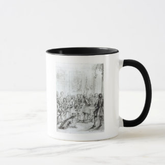 Concert at Montague House, 1736 Mug
