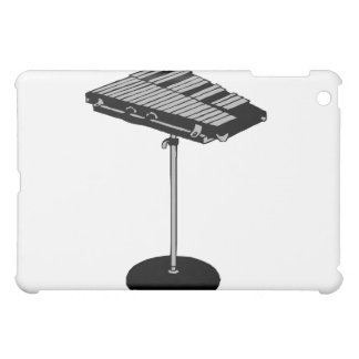 Concert Bells on Stand BW Graphic Image iPad Mini Cases