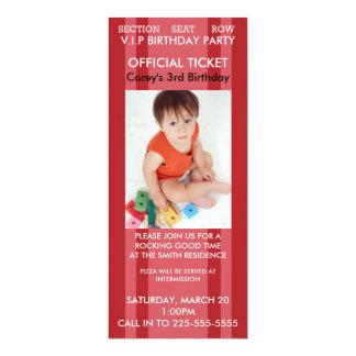 Concert Birthday Card