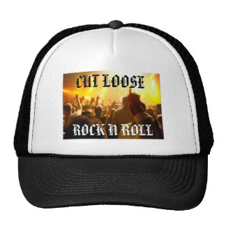 concert, CUT LOOSE, ROCK N ROLL Trucker Hat