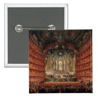 Concert given by Cardinal de La Rochefoucauld Pinback Button