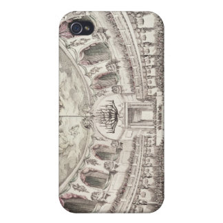 Concert Hall in Venice, 18th century (coloured eng iPhone 4 Cover