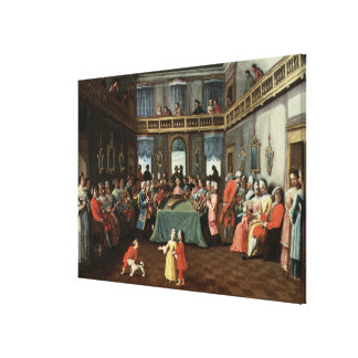Concert in a Private House Canvas Print