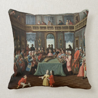 Concert in a Private House Pillow