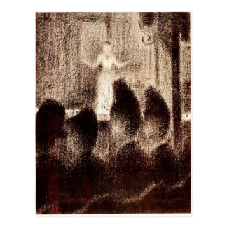 Concert in Europe by Georges Seurat Postcard
