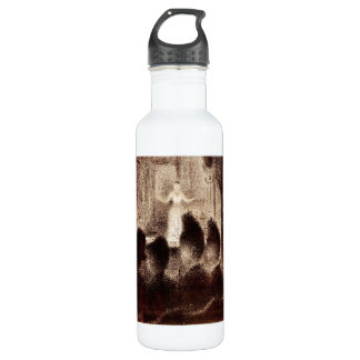 Concert in Europe by Georges Seurat Water Bottle