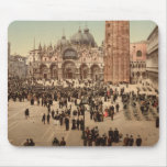 Concert in St Mark's Square I, Venice, Italy Mouse Pad
