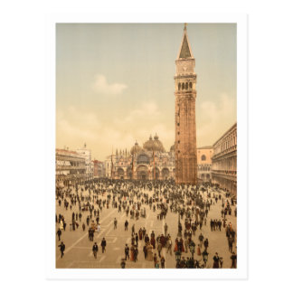 Concert in St Mark's Square II, Venice, Italy Postcard