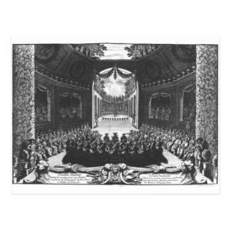 Concert in the garden of Trianon Postcard