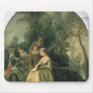 Concert in the Park, 1725 Mouse Pad