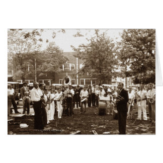 Concert in the Park Greeting Card
