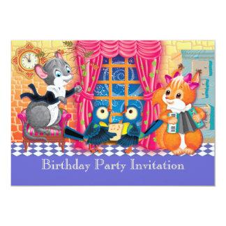 concert 5x7 paper invitation card
