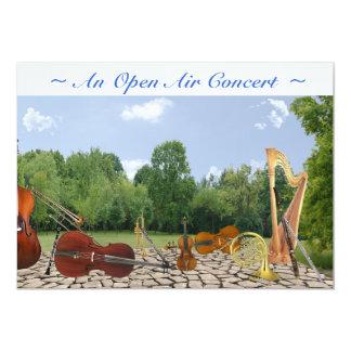 """Concert Invitation 5"""" X 7"""" Invitation Card"""