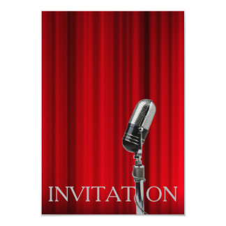 Concert Monroe Theater Oper Musical Invitation