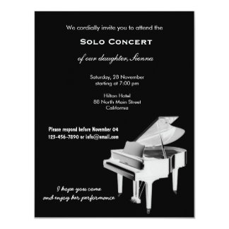 Concert Music Personalized Invite